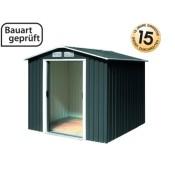 Tepro Gartenhaus / Metallgerätehaus Riverton 6x6 anthrazit
