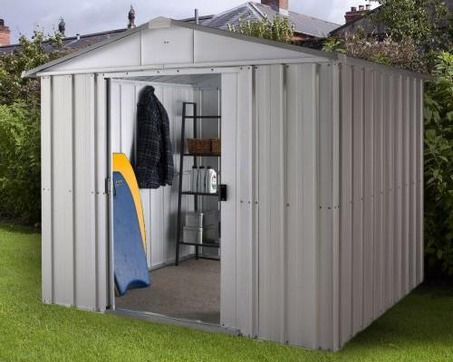 Gartenhaus aus Metall schon ab 159,95 Euro