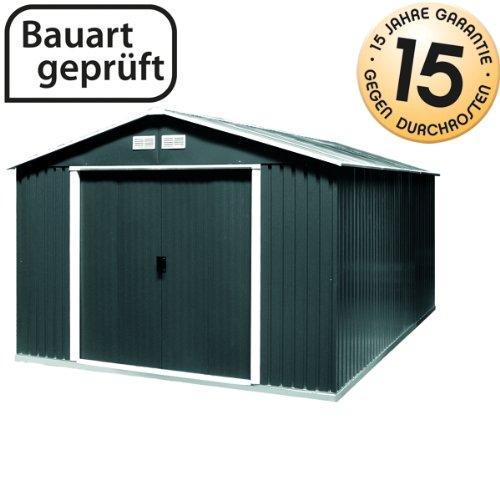 Gartenhaus aus Metall - die Bestseller