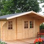 2-Raum Gartenhaus kaufen: praktisch und platzsparend