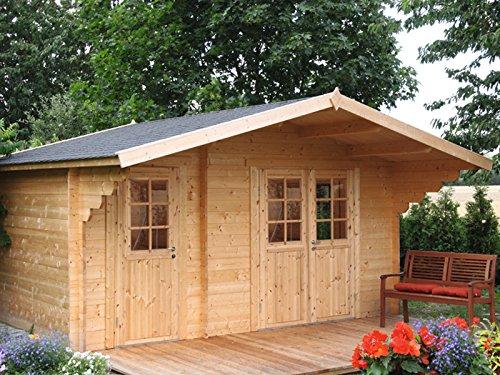 Extrem 2-Raum Gartenhaus kaufen: praktisch,platzsparend + Angebote WW97