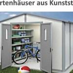 Gartenhaus aus Kunststoff - die Bestseller