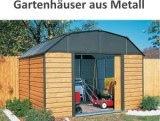 Gartenhaus Metall anschauen